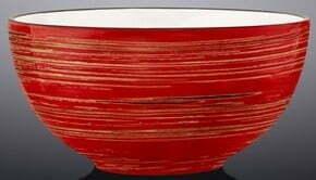 Салатник Wilmax Spiral Red 10,5 см WL-669229 / A купить недорого онлайн
