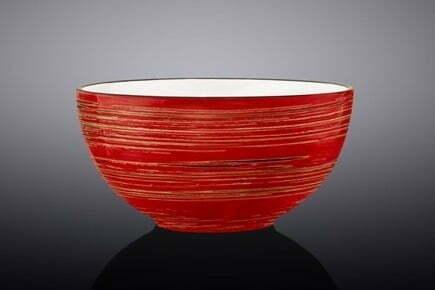 Салатник Wilmax Spiral Red 10,5 см