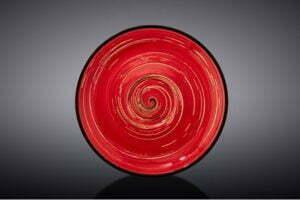 Блюдце Wilmax Spiral Red 12 см WL-669234 / B купить недорого