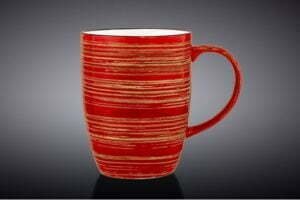 Кружка Wilmax Spiral Red 460 мл WL-669237 / A