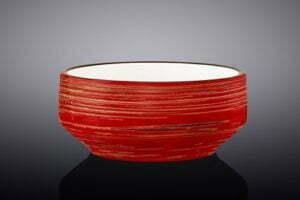 Супница Wilmax Spiral Red 400 мл WL-669238 / A недорогая цена