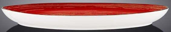 Блюдо камень Wilmax Spiral Red 33х24,5 см WL-669242 / A купить в Киеве
