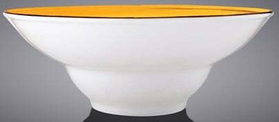 Тарелка глубокая Wilmax Spiral Yellow 800 мл WL-669422 / A отзывы и фото