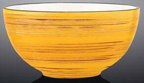 Салатник Wilmax Spiral Yellow 10,5 см WL-669429 / A купить недорого онлайн