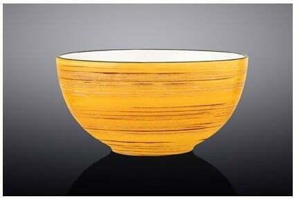 Салатник Wilmax Spiral Yellow 10,5 см