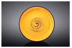 Блюдце Wilmax Spiral Yellow 12 см купить в Украине