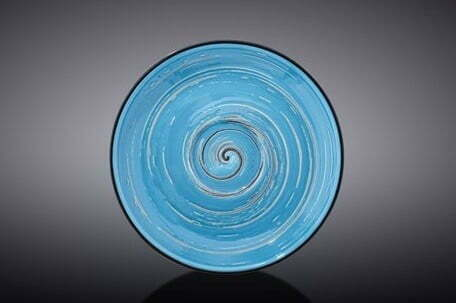Блюдце Wilmax SPIRAL BLUE 12 см