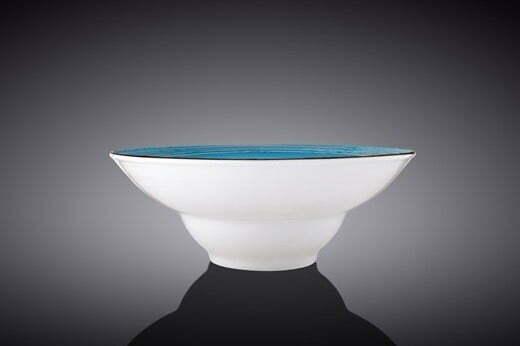 Тарелка глубокая Wilmax Spiral Blue