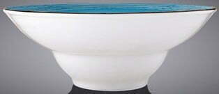 Тарелка глубокая Wilmax Spiral Blue 800 мл WL-669622 / A купить в Одессе