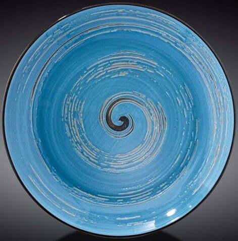 Тарелка Wilmax глубокая Spiral Blue 350 мл WL-669627 / A купить недорого онлайн