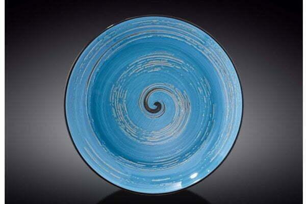 Тарелка Wilmax глубокая Spiral Blue 350 мл WL-669627 / A