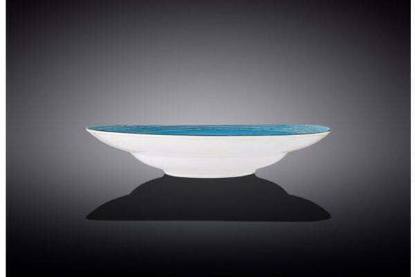Тарелка Wilmax глубокая Spiral Blue 350 мл купить дешево на сайте