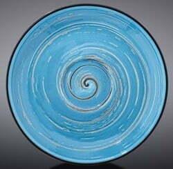 Блюдце Wilmax SPIRAL BLUE 12 см WL-669634 / B купить недорого онлайн