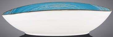Блюдо глубокое Wilmax SPIRAL BLUE 25х16,5х6 см WL-669640 / A купить в Харькове