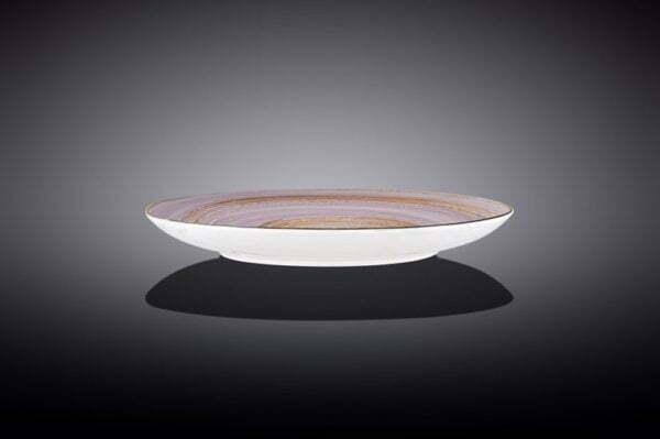 Тарелка Wilmax Spiral 23 см лиловая заказать