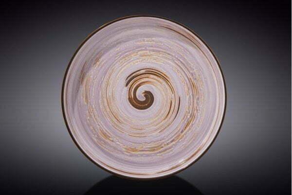 Тарелка обеденная Wilmax Spiral Lavander