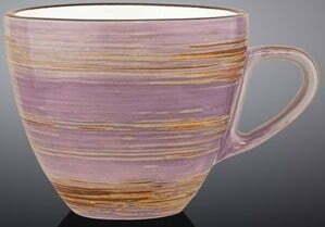 Чашка чайная Wilmax Spiral Lavander 190 мл WL-669735 / A купить недорого онлайн