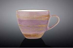 Чашка чайная Wilmax Spiral Lavander 190 мл WL-669735 / A