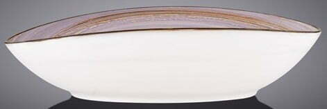 Блюдо овальное Wilmax Spiral Lavander 25х16,5х6 см WL-669740 / A купить в Киеве