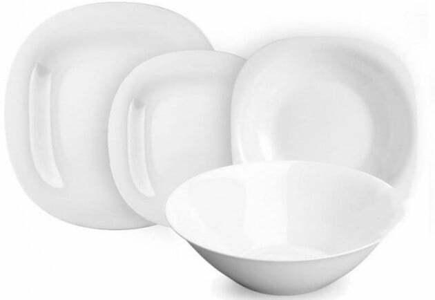 Сервиз столовый Luminarc Carine White с 19 предметов N2185 купить недорого онлайн