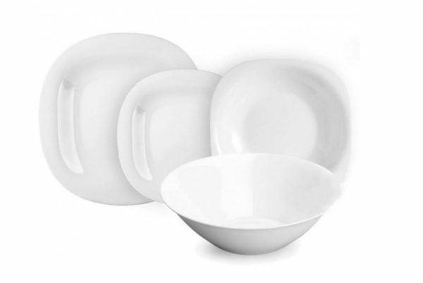 Сервиз столовый Luminarc Carine White с 19 предметов N2185