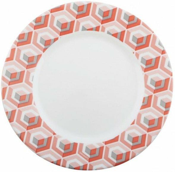 Тарелка 19 см десертная Luminarc Astelia Pink P4316 купить недорого онлайн