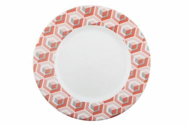 Тарелка 19 см десертная Luminarc Astelia Pink P4316