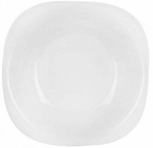 Тарелка суповая Luminarc Carine квадратная 21 см L5406 купить недорого онлайн