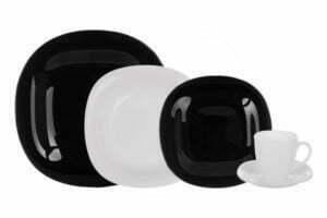 Столовый сервиз Luminarc Carine Black&White 30 предметов N1500
