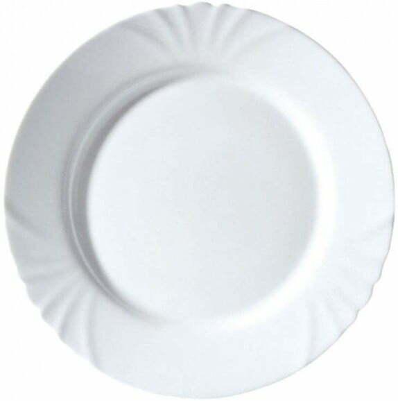 Тарелка десертная Luminarc Cadix 19,5 см из стекла H4129 купить недорог онлайн