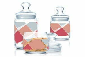 Набор банок стеклянных Luminarc Carron Night