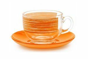 Чайный сервиз 220 мл Luminarc Brush Mania Orange заказать