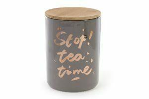 Банка фарфоровая BonaDi с крышкой Tea time 1,225 л 945-124