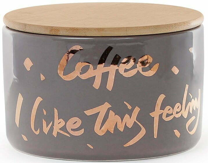 Банка 700 мл с деревянной крышкой Coffee BonaDi 945-274 купить недорого онлайн