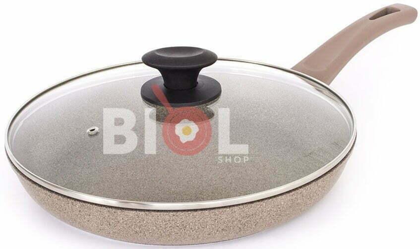 Сковорода со стеклянной крышкой Оптима-Декор 28 см купить недорого онлайн