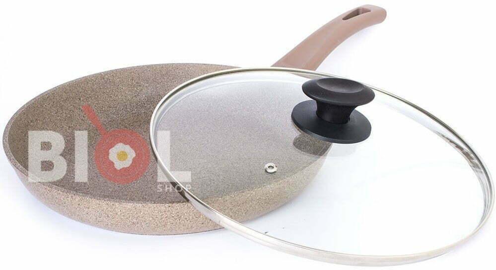 Сковорода со стеклянной крышкой Оптима-Декор 28 см быстрая доставка