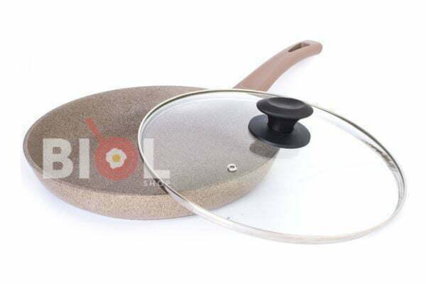 Сковорода Оптима-Декор со стеклянной крышкой 20 см заказать недорого