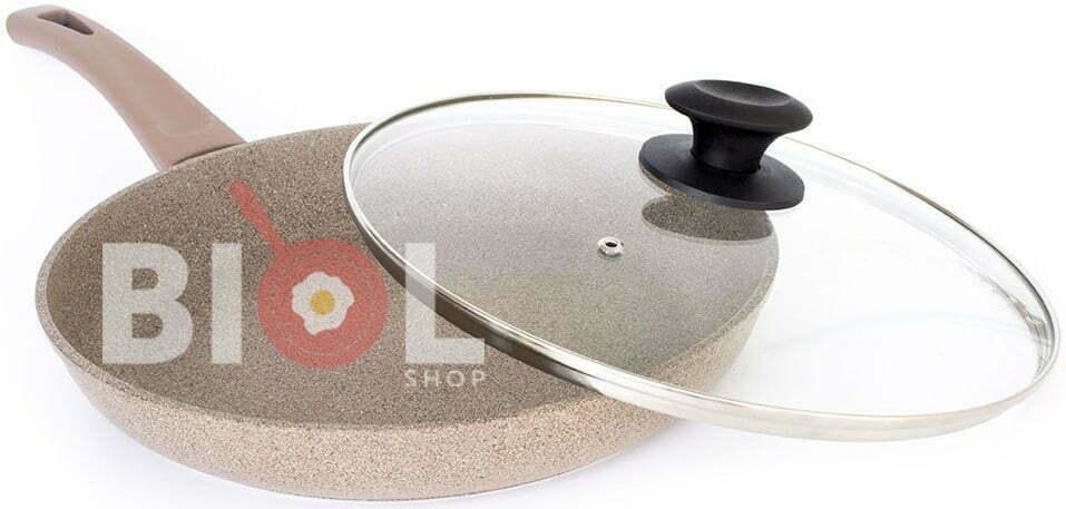Сковорода со стеклянной крышкой Оптима-Декор 28 см купить в Киеве