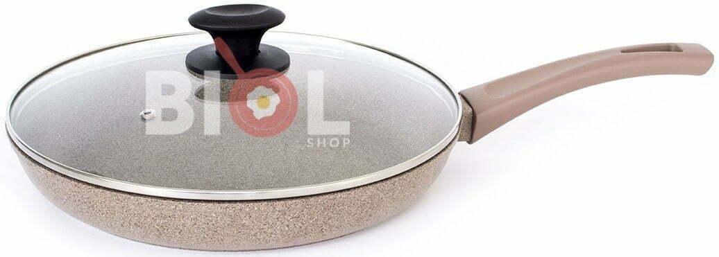Сковорода со стеклянной крышкой Оптима-Декор 28 см отзывы и фото