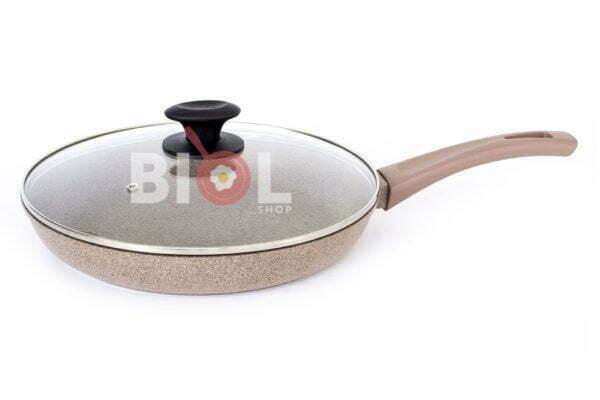 Сковорода со стеклянной крышкой Оптима-Декор 20 см