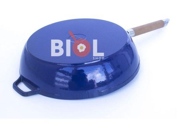Чугунная сковородка с эмалевым покрытием купить онлайн