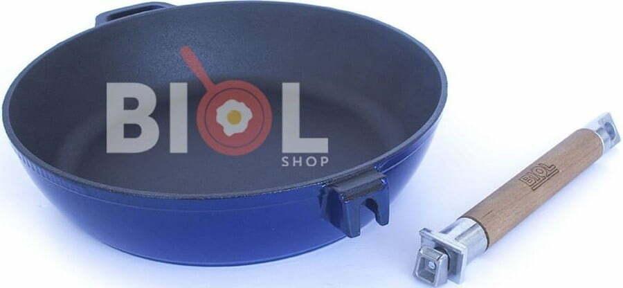 Сковорода чугунная Биол эмалированная 24 см 03244E купить в Одессе