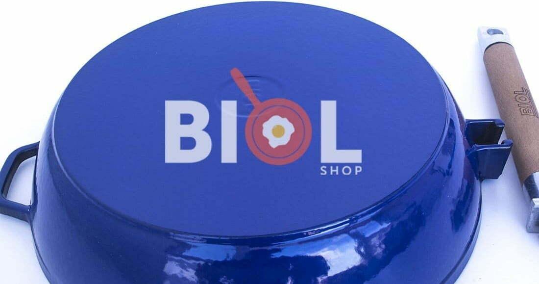 Сковорода чугунная Биол эмалированная 24 см 03244E доступная цена