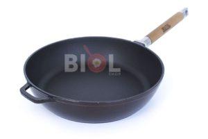 Сковорода 24 см Биол чугунная эмалированная 03247E