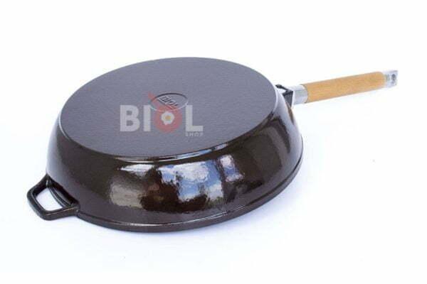 Сковорода 24 см Биол чугунная