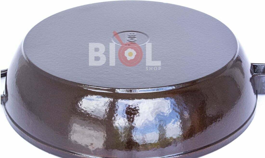 Сковорода 24 см Биол чугунная эмалированная 03247E купить в Харькове