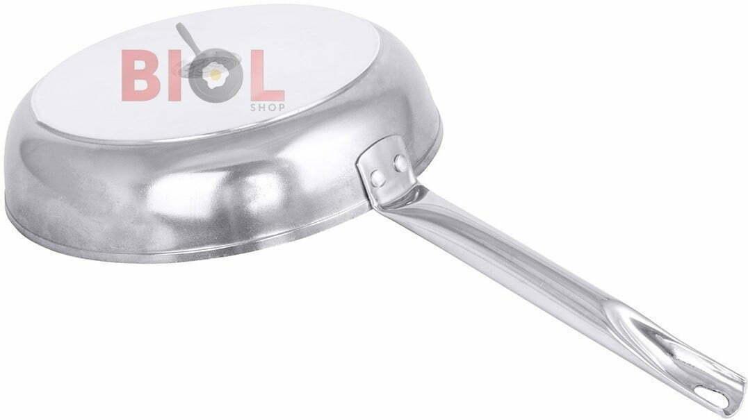 Сковорода антипригарная Profi со стеклянной крышкой Биол 24 см 2413НЛ купить в Одессе