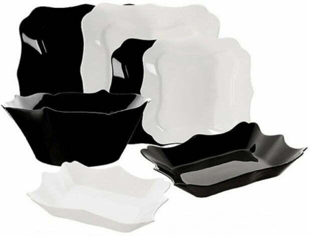 Сервиз Luminarc Authentic Black&White 19 предметов E6195 купить недорого онлайн