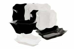 Сервиз Luminarc Authentic Black&White 19 предметов E6195