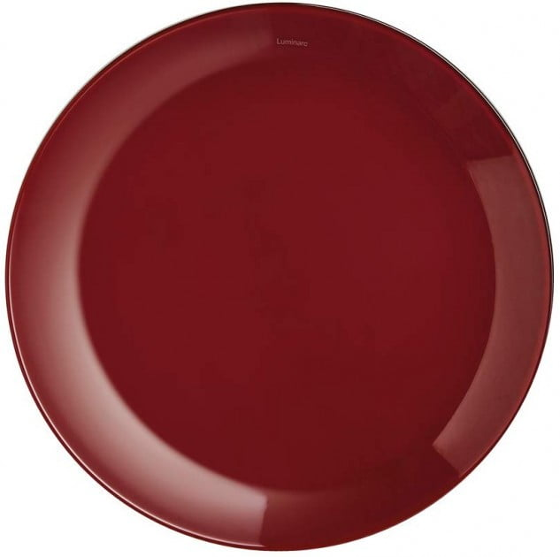 Тарелка Luminarc Arty Burgundy десертная 20,5 см P1002 купить недорого онлайн